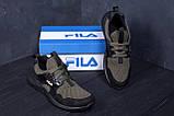 Мужские летние кроссовки сетка FILA  (реплика), фото 8
