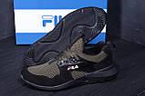 Мужские летние кроссовки сетка FILA  (реплика), фото 9