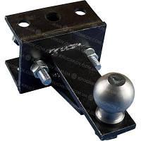 Переходной сцепной узел мототрактора (1 точка) под автомобильный прицеп Премиум, фото 1