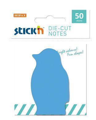 Блок самоклеящийся бумажный Stick`n 21773 Пингвин 50 лисов