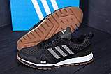 Мужские летние кроссовки сетка Adidas Summer Green(peпликa), фото 9