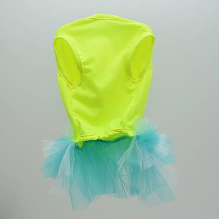 Платье для собак Карнавал мини 21 х 27 см желтый, фото 2