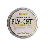 Шнур плетеный NTEC Fly-Cat Multicolor 137м, 0.18мм, 11.3кг