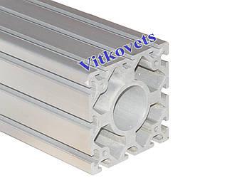 Станочный алюминиевый профиль  120х120 2000мм