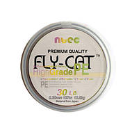 Шнур плетеный NTEC Fly-Cat Multicolor 137м, 0.12мм, 4.5кг