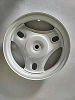 Диск задний (10 дюймов, 22 шлица) Honda Dio AF-18/AF-27/AF-28 (белый) (Тайвань)