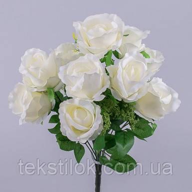 """Букет роз """"вивальди"""" белый Цветы искусственные"""