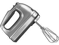 KitchenAid 5KHM9212ECU, миксер ручной, серебристый , фото 1