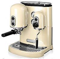 Кофеварка  KitchenAid Artisan Espresso 5KES2102EAC, кремовая