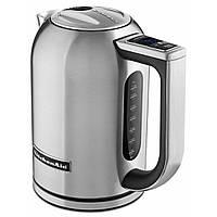 KitchenAid 5KEK1722ESX чайник электрический из нержавейки, цвет стальной, фото 1