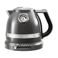 KitchenAid Artisan 5KEK1522EMS чайник электрический металлический , серебряный медальон
