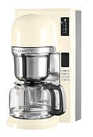 Кофеварка KitchenAid 5KCM0802EAC, заливного типа, графин 1.18л, кремовая