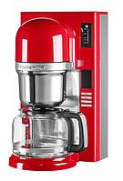 KitchenAid кофемашина 5KCM0802EER, пуровер заливного типа, графин 1.18л, красная