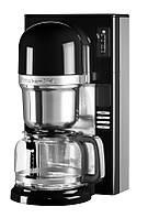 Машина для приготовления кофе KitchenAid 5KCM0802EOB, пуровер  заливного типа, графин 1.18л, черная