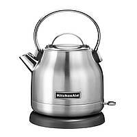 Електричний чайник KitchenAid 5KEK1222EMS, 1,25 л, срібний хром, фото 1