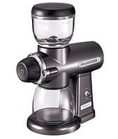 Кофемолка жернового типа KitchenAid 5KCG0702EMS, серый металлик, фото 1