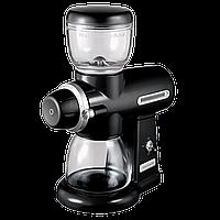 Кофемолка жерновая электрическая KitchenAid 5KCG0702EOB, чёрная, фото 1