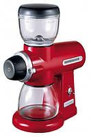 KitchenAid 5KCG0702EER, кофемолка электрическая жернового типа, красная