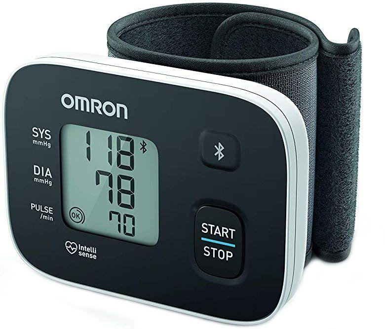 Интеллектуальный тонометр на запястье Omron RS3 Intelli IT (HEM-6161T-E)