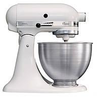 Планетарный миксер KitchenAid Classic 5K45SSEWH ,4.28 л, белый