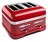 Тостер KitchenAid 5KMT4205EER Artisan , на 4 хлебца, красный