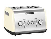 Тостер KitchenAid 5KMT421EAC, на 4 хлебца, кремовый
