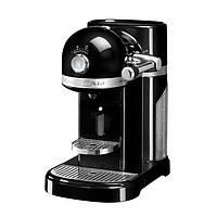 Кофеварка KitchenAid Artisan Nespresso 5KES0503EOB, капсульная, 1.4 л, черная
