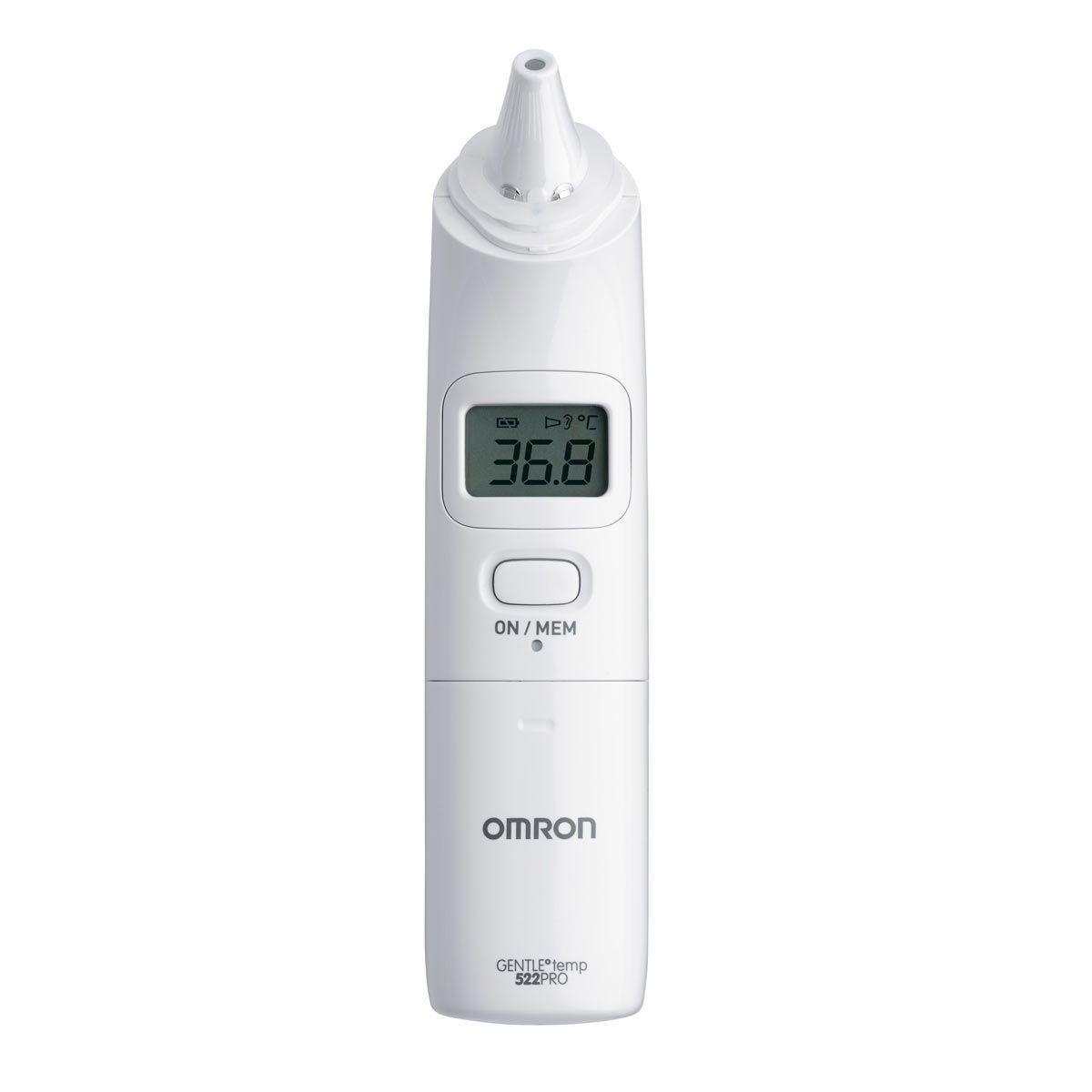 Термометр ушной электронный Omron Gentle Temp 522 Pro (MC-522-E)