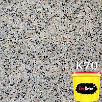 Штукатурка декоративно-мозаичная мраморная К70