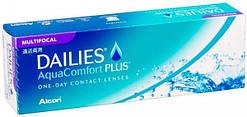 Однодневные линзы Dailies Aqua Multifocal