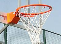 Корзина баскетбольная амортизационная с сеткой, фото 1