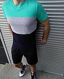 Чоловіча футболка і шорти. Річний комплект., фото 2