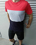 Мужская футболка и шорты. Летний комплект. , фото 4