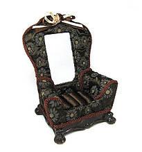 Подставка для украшений декоративная с зеркалом Кресло