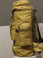 Тактический туристический городской рюкзак с системой M.O.L.L.E на 70л TacticBag Кайот, фото 3
