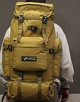 Тактический туристический городской рюкзак с системой M.O.L.L.E на 70л TacticBag Кайот, фото 4