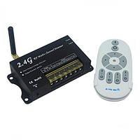 Светодиодный диммер 2.4G RF Многоканальный DC12-24V 4А/CH