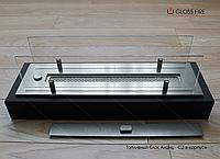 Топливный блок  Алаид Style 300-K С2 в корпусе со стеклом. Биокамин для квартиры. Живое пламя