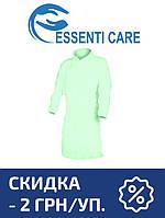 Защитный халат из нетканого материала Essenti Care (Mondo) (50 шт.) зеленый