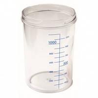 Емкость для аспиратора без крышки, 1л (материал: Markolon, автоклав: 121 °С) - RE-210003