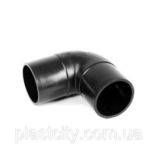 Колено стыковое литое 90° D75 SDR17