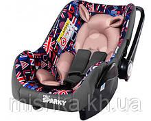 Автокрісло для немовлят з чохлом для ніжок TILLY Sparky T-511 Empire Grey
