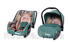 Автокрісло для немовлят з чохлом для ніжок TILLY Sparky T-511 Empire Green