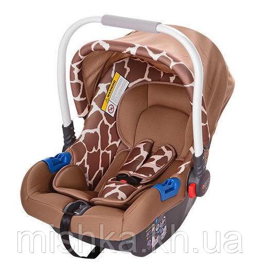 Автокресло для новорожденных EL Camino Жираф от 0 до 13 кг