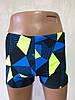 Плавки-шорты мужские, плавательные.темно  синие . 711