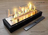 Топливный блок  Алаид Style 400-K С2 в корпусе со стеклом. Красивый огонь. Биокамин в квартиру.