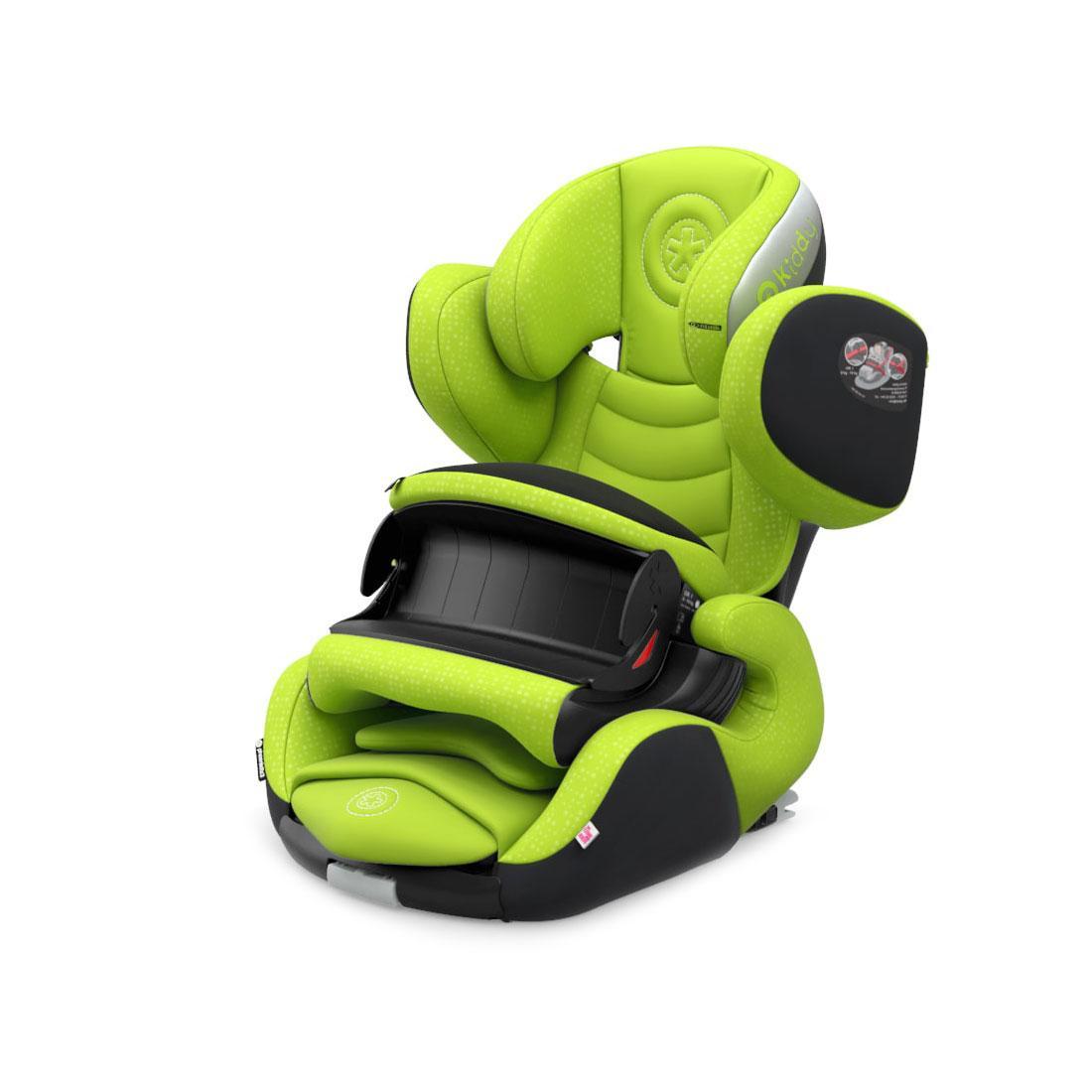 Автокресло Phoenixfix 3, Lime Green «Kiddy» (41543PF097)