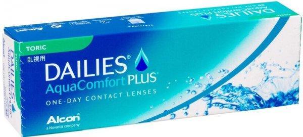Торические однодневные линзы Dailies Aqua Toric
