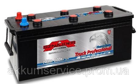 Аккумулятор грузовой SznajderTruck Professional 145AH R+ 800А (64520)