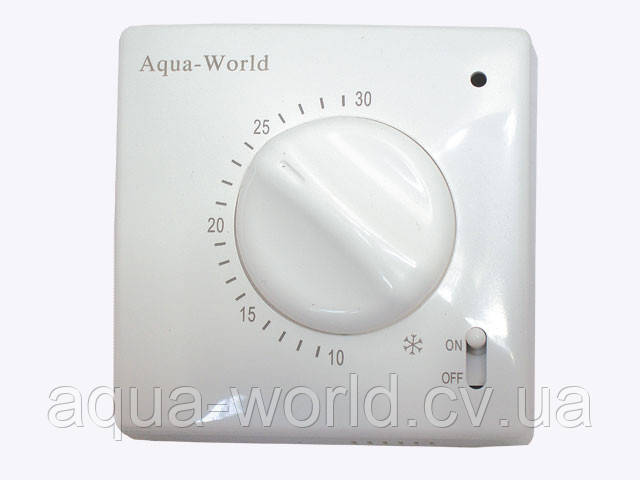 Термостат комнатный электромеханический Aqua-World